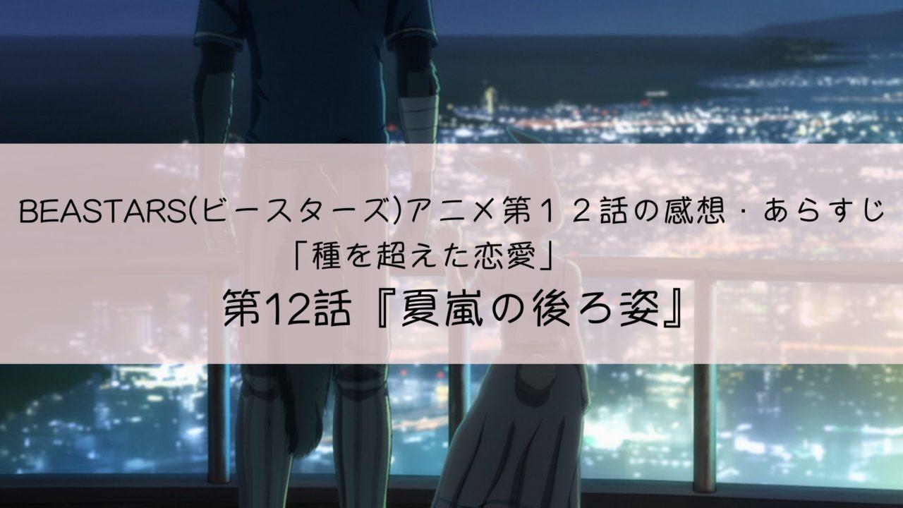 ビースターズ アニメ 第12話 感想 あらすじ